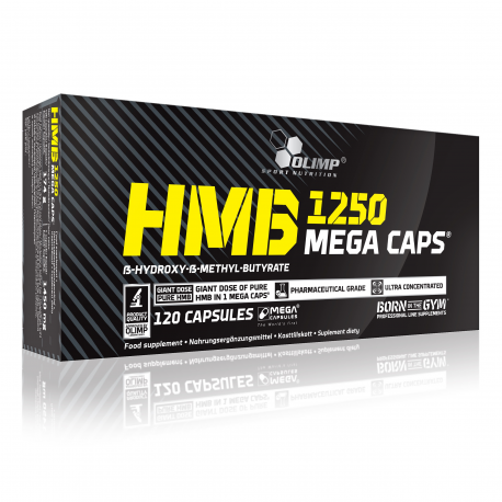 Olimp - HMB (1250 mg) Mega Caps - 120 cap.