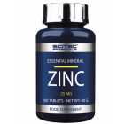 Scitec Essentials -  Zinc 25mg - 100 tabl.
