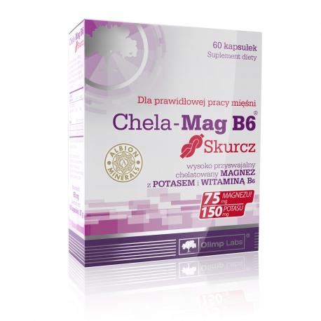 Olimp Chela-Mag B6 Cramp - 60 kaps.