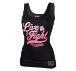 Live and Fight  -  ORIGINAL 90 women's TANK TOP Black