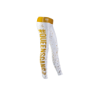 Live and Fight - WOMEN'S LEGGINGS -FANCY White&Gold