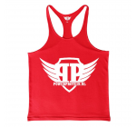 POWER PROTEIN - TANK TOP HARDCORE - RED + Gratis wristband