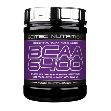 Scitec nutrition - Bcaa 6400 - 375 tab.