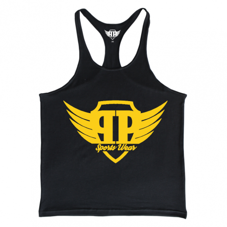PURE POWER - Sports Wear - GOLD EDITION - BLACK