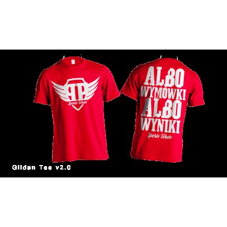 Albo Wyniki Albo Wymówki - Red
