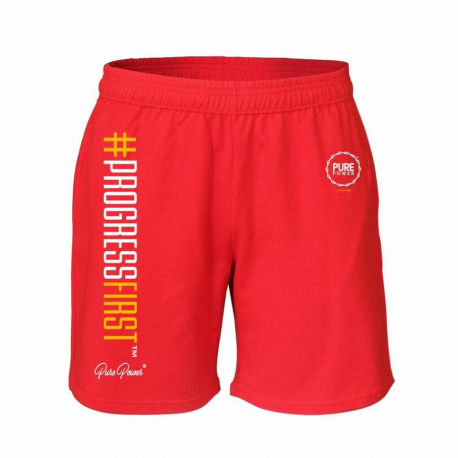 PURE POWER - SHORTS - RED