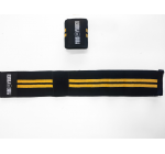 PURE POWER - Hardcore Wrist Wrap Black/Yellow