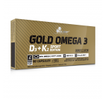 Olimp - GOLD OMEGA 3® D3 + K2 - 60 caps Sport Edition