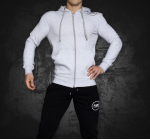 PURE POWER - FIT HOODIE GRAY