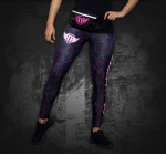 PP - Sports Wear - LEGGINS - POWER PRINCESS - PINK/BLUE