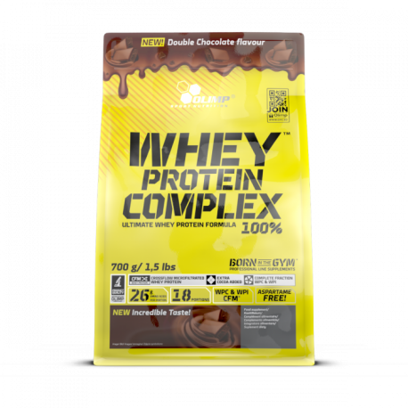 Olimp - Whey Protein Complex 100% Double Chocolate 700g