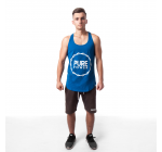 Pure Power - Tank Top Blue Progressfirst