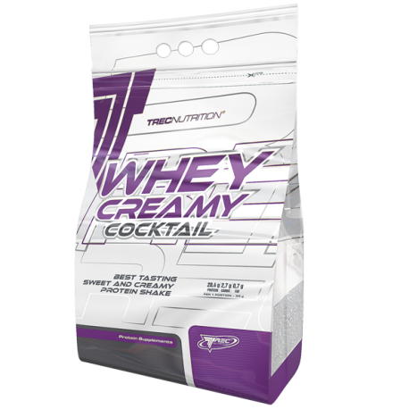 Whey creamy coctaile 2275 g French vanilla