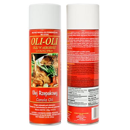 Euro-Goal - Oli-Oli 453g olej rzepakowy do smażenia