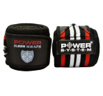POWER SYSTEM WEIGHTLIFTING ELBOW WRAPS PRO - 2 pcs