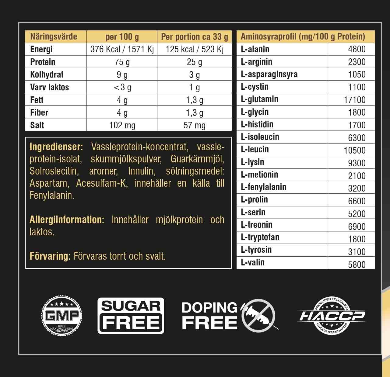 swedish supplements protein