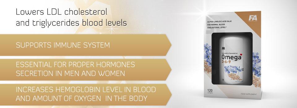 Fa Nutrition Omega 3 6 9 120 Caps Powerprotein