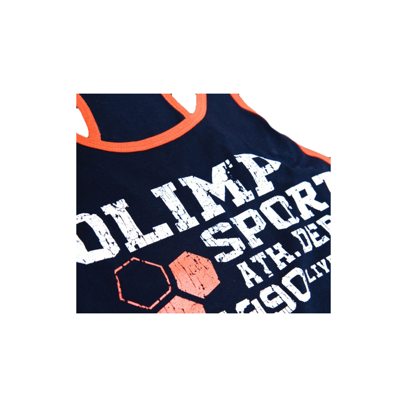 Olimp Live and Fight Gym Tank top RALF Navy