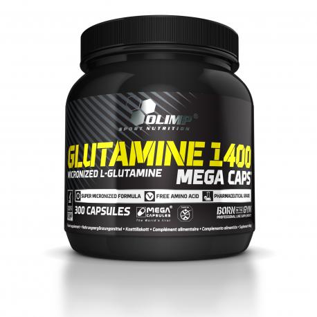 Olimp Glutamine 1400 - 300 MCaps