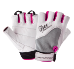 TREC - WOMAN GLOVES - WHITE-GRAY