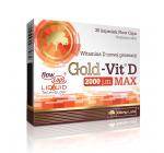 Olimp -  Gold Vit-D MAX 2000 IU - 30 kaps.
