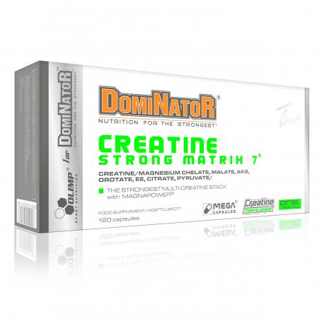 Olimp -  Dominator Creatine Strong Matrix 7 - 120 kaps.