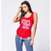 Live and Fight  -  ORIGINAL 90 women's TANK TOP Red