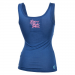Live and Fight - PREMIUM WOMENS TANK TOP Blue