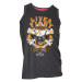 Live and Fight - Men's Tank Top BLOODY KNUCKLES Navy