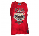 Live and Fight - Men's Tank Top BLOODY KNUCKLES RED