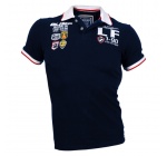 Live and Fight - Men's Polo PARAMOUNT Navy