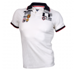 Live and Fight - Men's Polo PARAMOUNT White