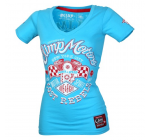 Live and FIght -  LOST REBELS Lady's Tee Blue