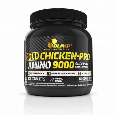 Olimp - GOLD CHICKEN-PRO™ AMINO 9000 Mega Tabs® - 300 tab.