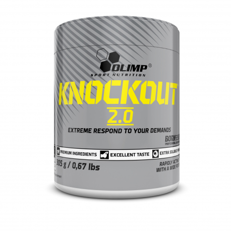 Olimp - Knockout 2.0 - 305g/50 portions