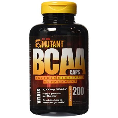 Pvl - Mutant Bcaa Caps - 200cap
