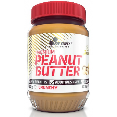 Olimp - Peanut Butter - Crunchy 700 g