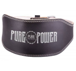 PURE POWER - LEATHER HARDCORE BELT