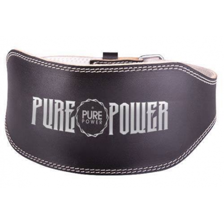 PURE POWER - LEATHER HARDCORE BELT
