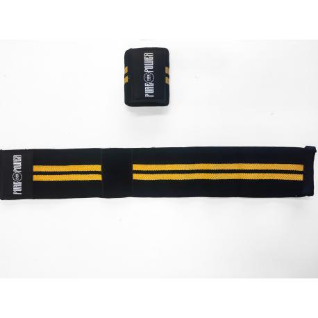 PURE POWER - Hardcore Wrist Wrap Black/Yellow