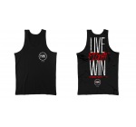 PURE POWER - LIVE FIGHT WIN - TANK TOP BLACK