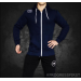 PURE POWER - FIT HOODIE NAVY BLUE