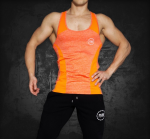 BASE LINE - TANK TOP ORANGE