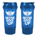 Power Protein shaker +pill box Never Give Up [black] 500ml