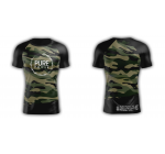 CAMO - COMPRESSION TEESHIRT