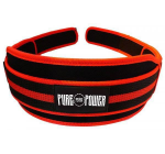 PURE POWER - NEOPREN BELT RED