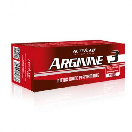 Activlab - Arginine 3 - 128 kaps.
