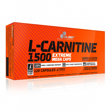 Olimp L-carnitine 1500 Extreme - 120caps