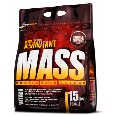 PVL MUTANT MASS 6800 G + T-shirt MUTANT XL