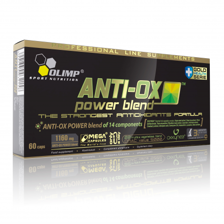 Olimp - ANTI-OX POWER BLEND - 60cap.
